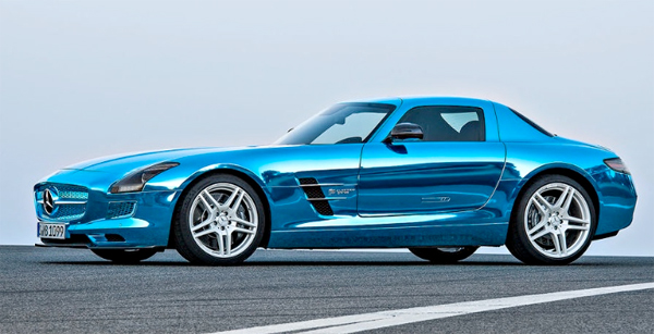 mercedes sls amg electric drive. Black Bedroom Furniture Sets. Home Design Ideas