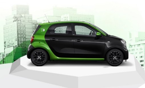 smart forfour electric drive. Black Bedroom Furniture Sets. Home Design Ideas