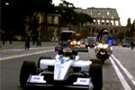 Une Formule 1 électrique dans les rues de Rome