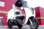 Matra MS3 - Le scooter électrique à trois roues en images