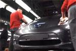 Production de la Nissan Leaf - Reportage à Sunderland