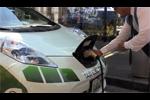 Zoom sur la recharge des taxis électriques Nissan Leaf à Mexico