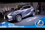 Le concept hybride LF-NX à Francfort