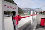 Les superchargeurs Tesla arrivent en Europe