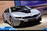 La BMW i8 en direct du salon de Francfort