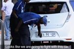 Afrique-du-Sud - Les pompistes piégés par une Nissan Leaf