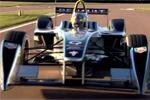 Formule E - Premiers tours de piste pour la Spark-Renault SRT_01E