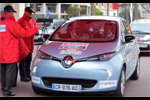 La Renault Zoé au Rallye ZENN 2014