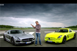 Essence VS �lectrique - Mercedes SLS AMG Electric Drive VS Mercedes SLS AMG Black Series