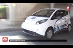 Lancement de BlueIndy - Reportage France 2