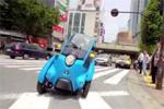 Le Toyota i-Road en balade à Tokyo