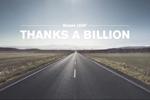 Le milliard de km en Nissan Leaf