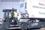 Tracteur de parc électrique ATM de Gaussin diffusé par BLYYD