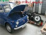 Conversion d'une Fiat 500 à la traction électrique