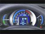 Honda Insight - Vue intérieure