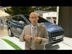 Peugeot HYbrid4 - Interview de Vincent Basso à Francfort
