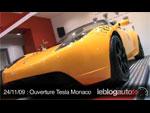 Inauguration du Tesla Store de Monaco