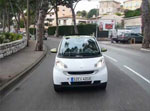La Smart ED dans les rues de Monaco