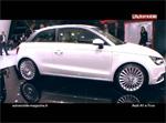 Reportage - L'Audi A1 e-tron à Genève