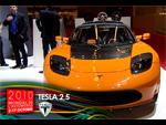 Le Tesla Roadster au Mondial 2010