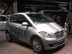 Voiture électrique - La Mercedes Classe A e-Cell fait ses premiers pas au Mondial 2010