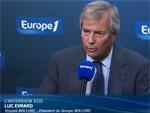 Vincent Bolloré parle de sa voiture électrique Bluecar sur Europe 1