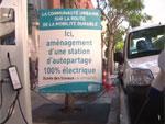 Auto Bleue - Visite de la première station à Nice