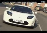 Florent Malouda roule en Tesla Roadster