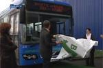 Bus hybride - Ikea Strasbourg se met au vert