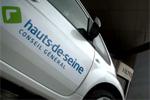 Le Conseil Général des Hauts-de-Seine dévoile ses véhicules électriques
