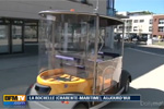 Navettes électriques autonomes à La Rochelle - Reportage BFMTV