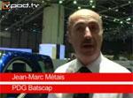 Interview de Batscap qui produit les batteries du véhicule électrique Bolloré Bluecar