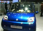 Genève 2007 - Présentation du véhicule électrique Bluecar de Bolloré