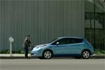 Publicité - La Nissan Leaf se moque de la Volt