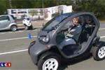 La Renault Twizy à l'essai sur LCI