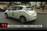 La Nissan Leaf en autopartage chez Communauto au Canada
