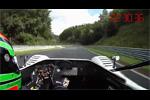 La TMG EV P001 bat le record de Nürburgring - Caméra embarquée