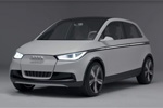 Audi A2 Concept - Footage vidéo