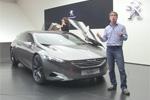 Reportage - Concept Peugeot HX1 à Francfort