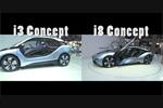 BMW i3 et i8 à Francfort