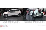 Les concepts électriques Audi à Francfort