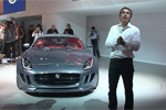 Concept Jaguar C-X16 en direct de Francfort