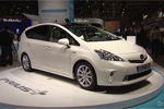 La Toyota Prius+ à Francfort
