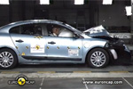 Crash-tests Euro NCAP de la voiture électrique Renault Fluence ZE