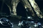 La Renault Twizy illumine la Tour Eiffel !