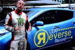 Nissan Leaf - Record de vitesse en marche arrière