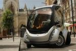 Hiriko - La voiture électrique pliable dans les rues de Barcelone