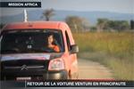 Venturi - Retour de la Mission Africa à Monaco