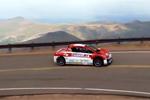 Les voitures électriques de Mitsubishi à Pikes Peak 2012