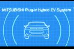 Mitsubishi Outlander hybride rechargeable - Fonctionnement